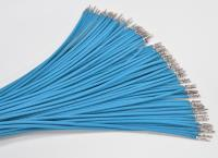 Sleeved Wire (30cm) Light Blue