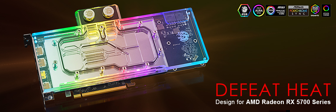Bitspower Lotan VGA water block for AMD Radeon RX 5700 XT