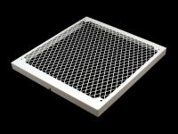 MO-RA3 420 fan grill diamond white