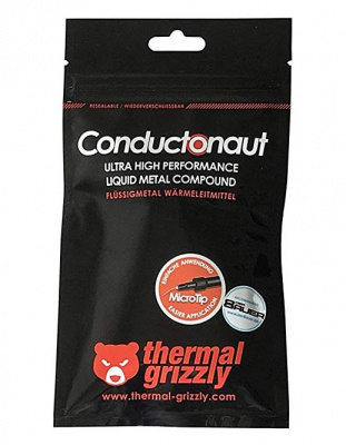 Thermal Grizzly Conductonaut liquid metal thermal compound - 1 gram