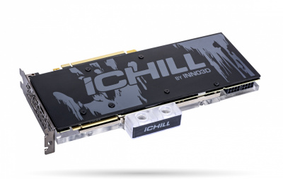 Видеокарта INNO3D GEFORCE RTX 2080 SUPER ICHILL FROSTBITE 8GB