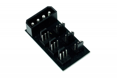 Splitter 4Pin Molex to 6x 3Pin