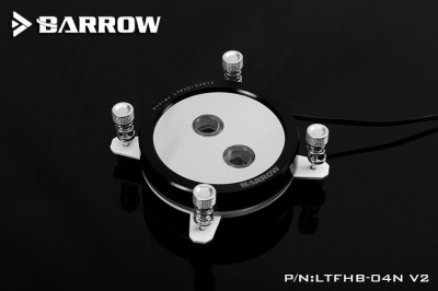 Водоблок Barrow Energy LTFHB-04N V2 Black ring+White Bracket+Black Screw